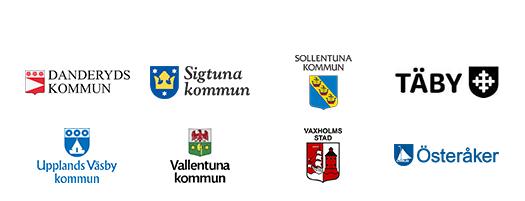 8 kommuner